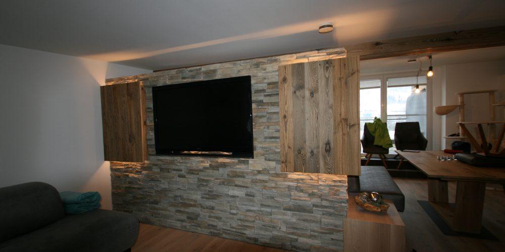 Wandpaneele aus Naturstein